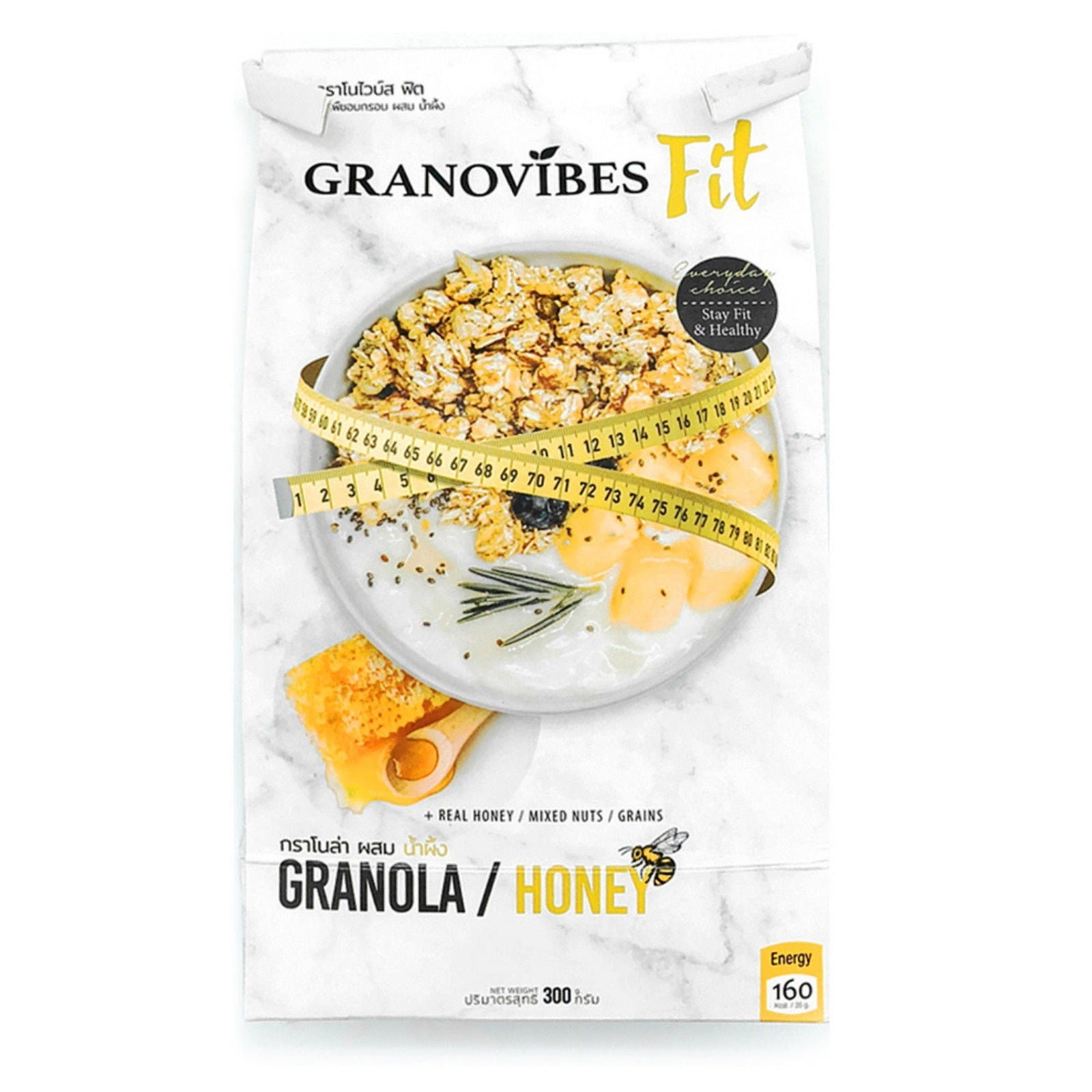 Granovibes Fit Honey - Granola 300g