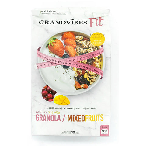 Granovibes Fit Mixed Fruits - Granola 300g