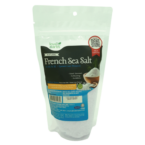 Love Earth French Sea Salt 350g