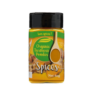 Love Earth Organic Tumeric Powder - 60g.