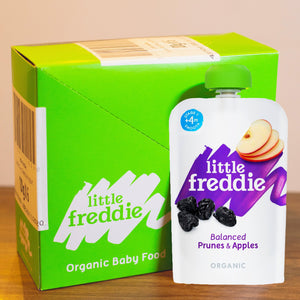 Little Freddie Balanced Prunes & Apples - INNER BOX (6 x 100g) [EXP 6 DEC 2020] PROMO