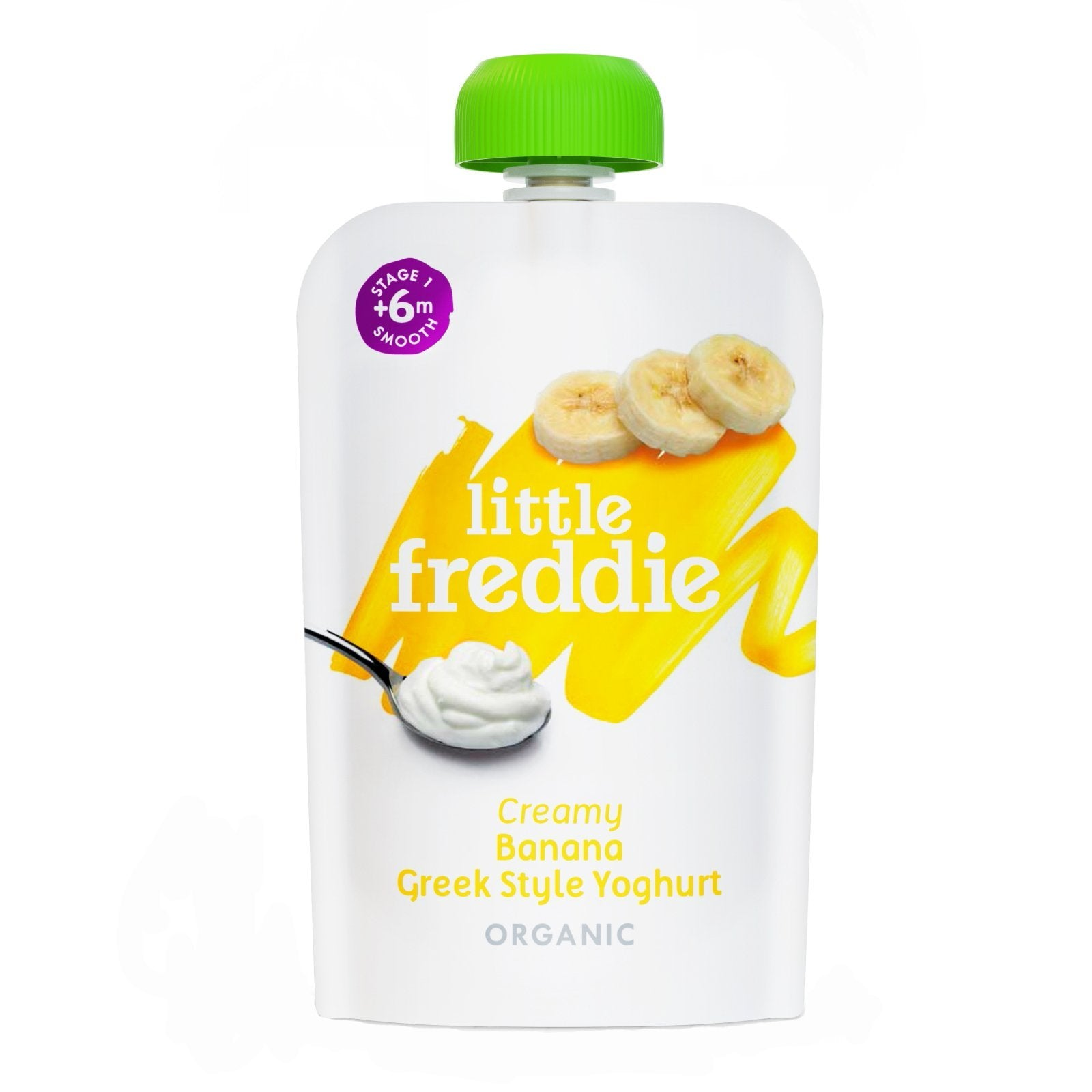 Little Freddie  Creamy  Banana Greek Style Yoghurt - 100g
