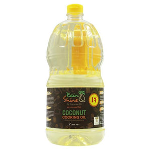 Tropicana Organic Cold Pressed. (Consumption) Rain & Shine Coconut Cooking Oil - 2 litres