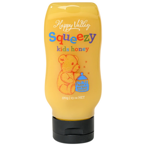 Happy Valley Squeezy Kids Honey (370g)