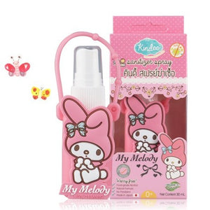 Kindee Sanitizer Spray 0+mths (30ml) + Melody case from Japan!