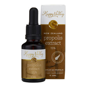 Happy Valley New Zealand Propolis Extract 15%