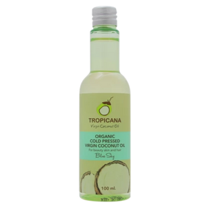 Tropicana Organic Cold Pressed. (Application)  Virgin Coconut Oil- Blue Sky- 100ml.