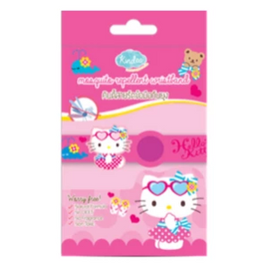 Kindee Mosquito Repellent Wristband 0+ - Kitty