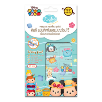 Kindee Mosquito Repellent Patch 0+ - Tsum Tsum