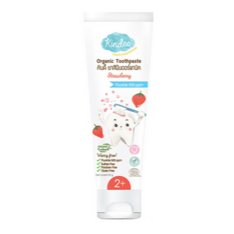 Kindee Organic Toothpaste - Strawberry 50g
