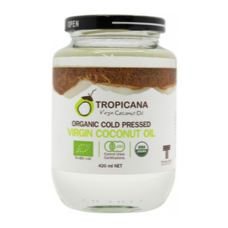 TropicanaOrganic Cold Pressed (Consumption) Coconut Oil -420ml