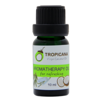 Tropicana Organic Cold Pressed (Consumption)  Coconut Aromatherapy Oil 10ml.