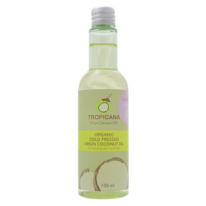 Tropicana Organic Cold Pressed. (Application)  Virgin Coconut Oil- Lavender- 100ml [EXP 03/09/2020]