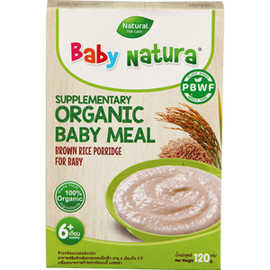 Baby Natura Brown Rice Porridge - 120g  (20gX6)