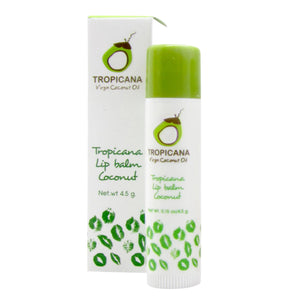 Tropicana Organic Cold Pressed (Application) -Lip Balm Stick  Coconut - 4.5gm.
