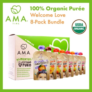 AMA Time Welcome Pack [Bundle of 8 Assorted Purées]