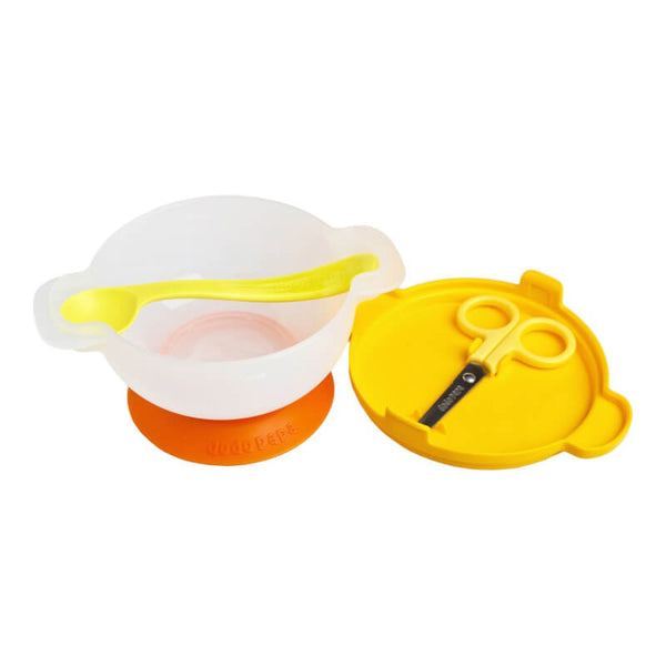 Dodo Papa Dining Out Bowl Set - Yellow (6 Months+)