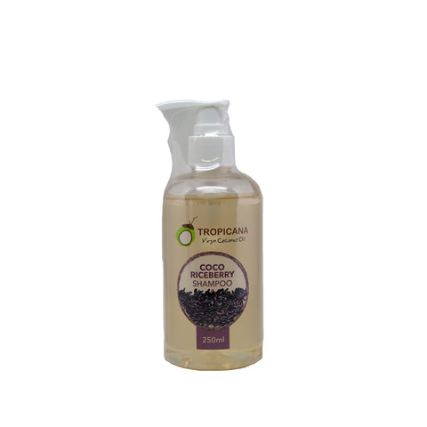 Tropicana Virgin Coconut Oil - Coco Riceberry Shampoo - 250ml [EXP 5 SEP 2020]