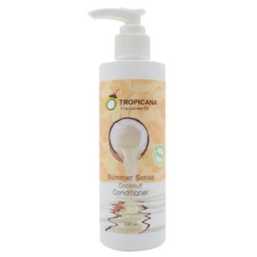 Tropicana Conditioner Free Paraben Coconut - Summer Sense - 240ml [EXP 5 JUNE 2021]