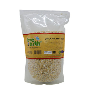 Love Earth Organic Oat Bran 400g.