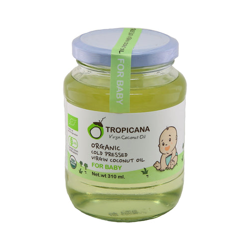 Tropicana Organic Cold Pressed.(Consumption) Virgin Coconut Oil ( For Baby )