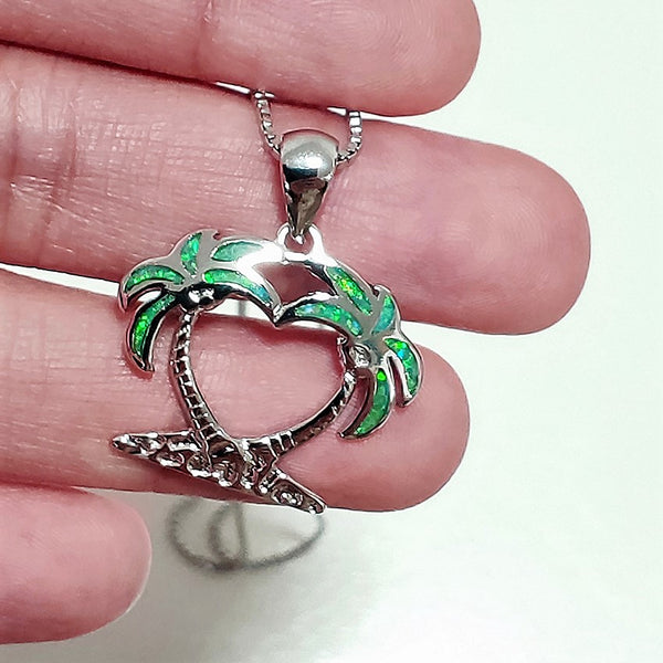 Island Breeze Pendant - Tropical Green