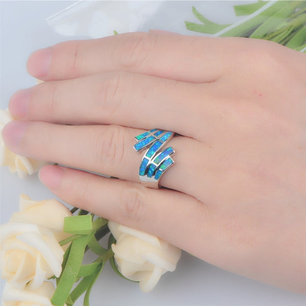 Overlapping Waves Ring