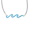 Double Paradise Wave Necklace