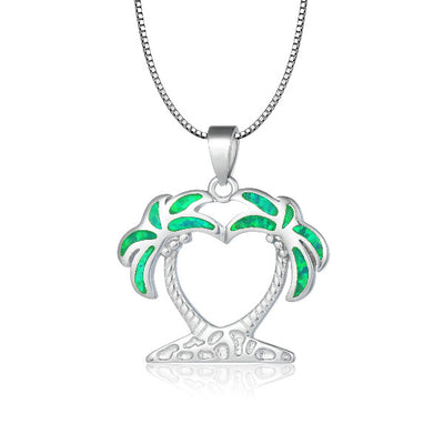 Island Breeze Necklace - Tropical Green (Limited Edition)