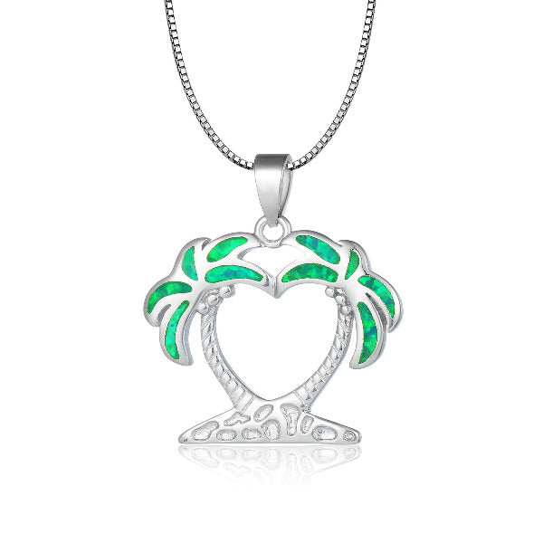 Island Breeze Pendant - Tropical Green (Limited Edition)