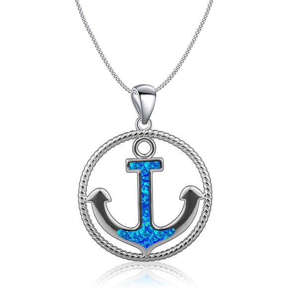Anchor Necklace (Unisex)