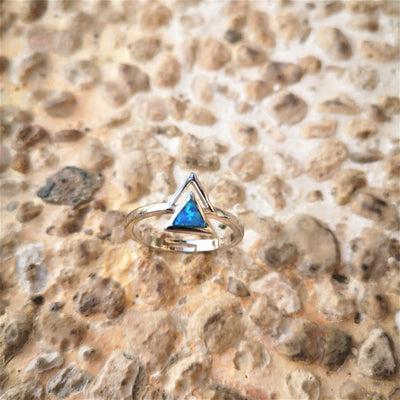 Bermuda Triangle Ring