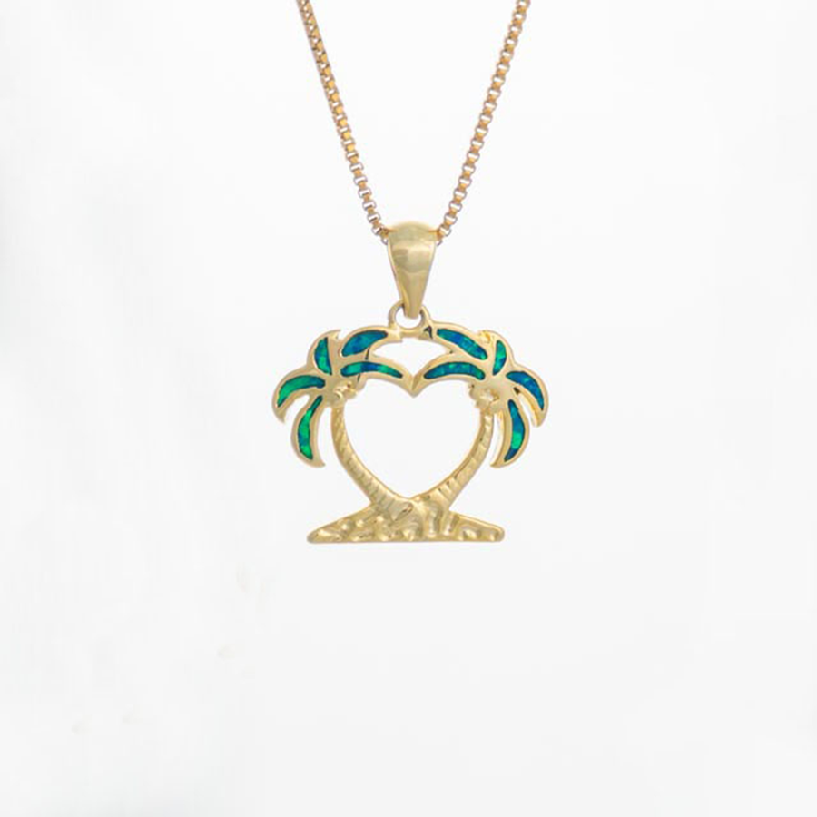 Island Breeze Necklace - Gold Plated