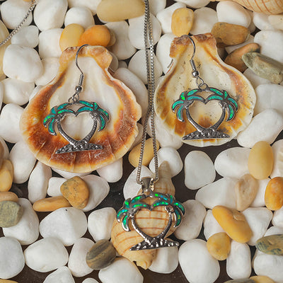 Island Breeze Earrings - Tropical Green (Limited Edition)
