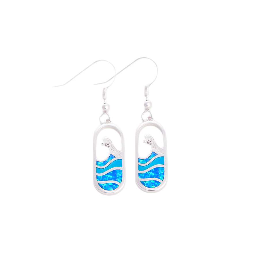 Madison Wave Earring