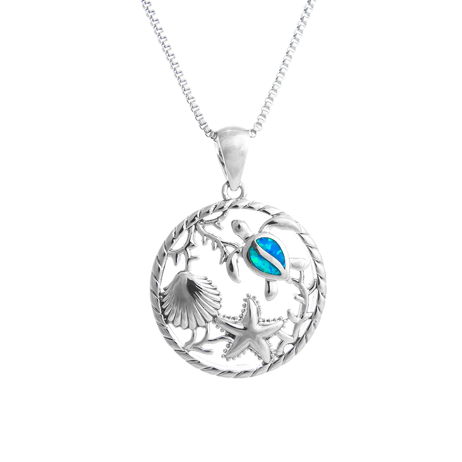 Sea Creature Medley Necklace