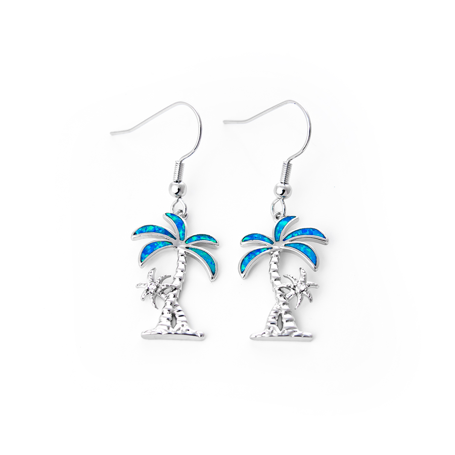 Swaying Palm Tree Earrings