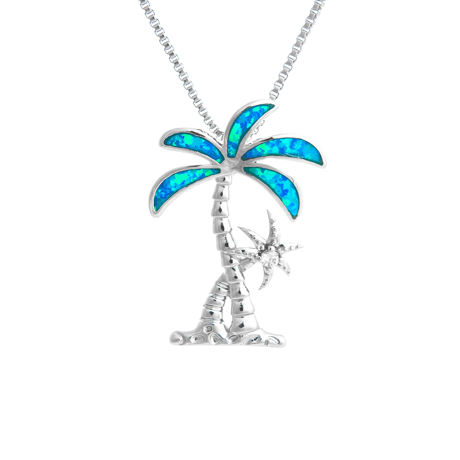 Swaying Palm Tree Necklace