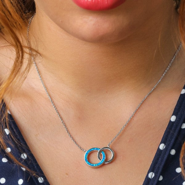 Interlacing Circles Necklace