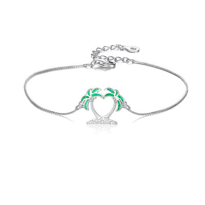 Island Breeze Anklet - Tropical Green (Limited Edition)
