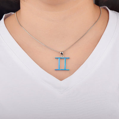 Zodiac - Gemini Necklace