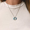 Double Moon Pendant - Madison Ashley