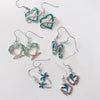Infinite Opal Heart Earrings