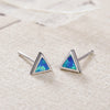 Bermuda Triangle Studs - Madison Ashley