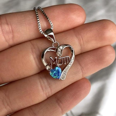 Mom Heart Pendant - Madison Ashley