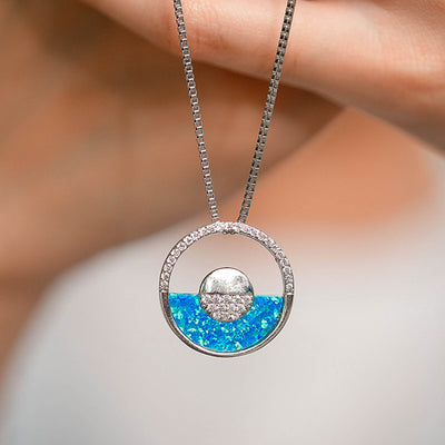 Opal Horizon Necklace