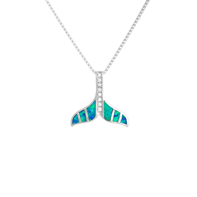 Opal Stripe Whale Tail (Hers)