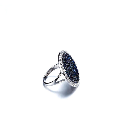 Crystal Shield Ring - Madison Ashley