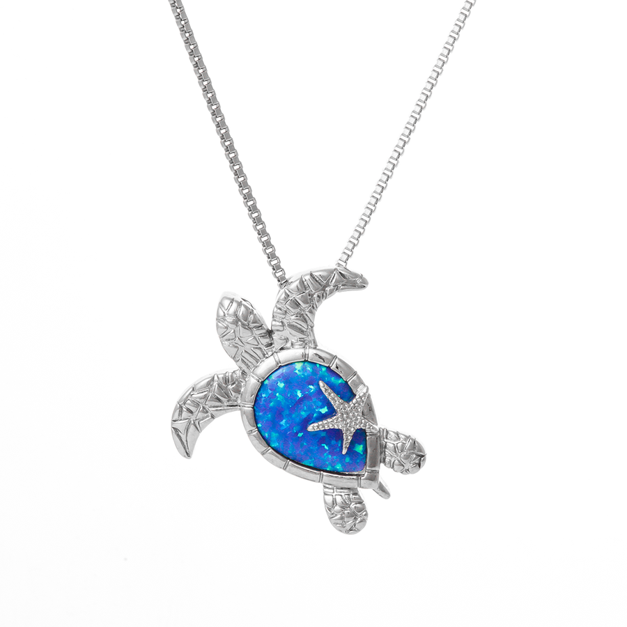 Sea Star Turtle Necklace