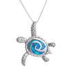 Vintage Sea Turtle Necklace (Unisex)